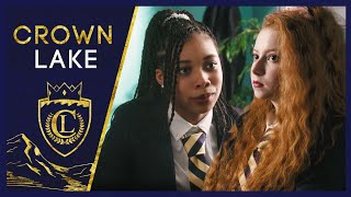 """Nellie and Tiffany set aside their differences (if only briefly) to escape detention.   SUBSCRIBE: https://brat.tv/BratSub  WATCH MORE CROWN LAKE https://brat.tv/CrownLake_Season1  ABOUT CROWN LAKE When Eleanor """"Nellie"""" Chambers shows up at Crown Lake Academy, a fancy all-girls boarding school, she knows this school is her ticket to a new & better life. But she also knows fitting in and learning the ropes isn't going to be easy. Until she finds a guide.   CROWN LAKE 