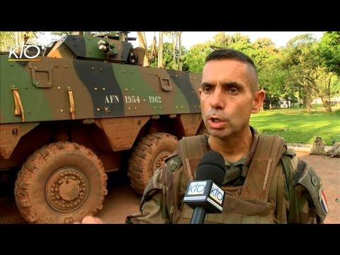 Opération Sangaris : Un aumônier militaire en Centrafrique