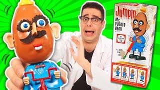 EL JUGUETE Mr POTATO MÁS EXTRAÑO Y ANTIGUO 🥔 Señor Cara De Papa Creepy (en Español)