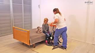 Pomůcka pro přesun ETAC Turner Pro - Přesun dítěte