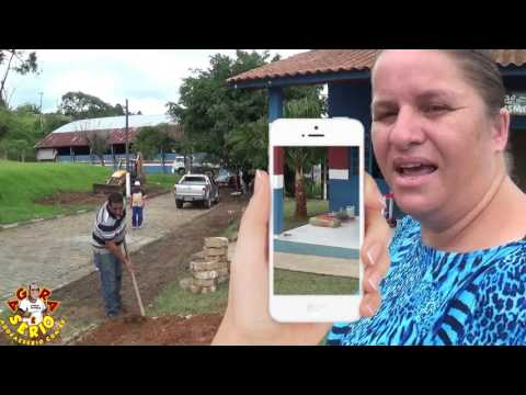 Diretora de Turismo Evelin Diaconisa fala sobre a reforma da jardinagem da Casa do Turismo