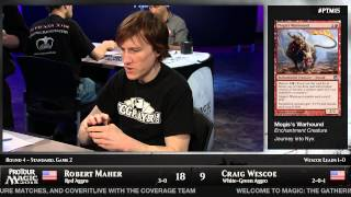 Pro Tour Magic 2015 - Round 4 (Standard) - Bob Maher vs. Craig Wescoe