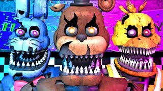 Five Nights at Freddy's Song (FNAF 4 SFM 4K)(TIFWhitney Remix)