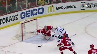 Mrazek robs Boyle with unreal stick save