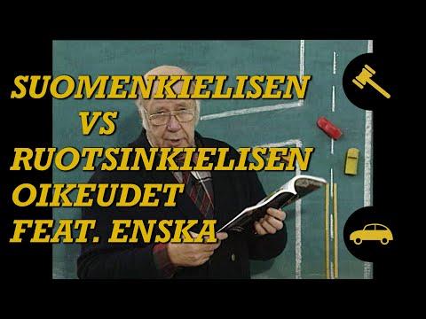 Ruotsinkielisten eri oikeudet