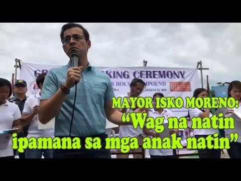 Manila Mayor Isko Moreno : Wag na nating ipamana sa mga anak natin