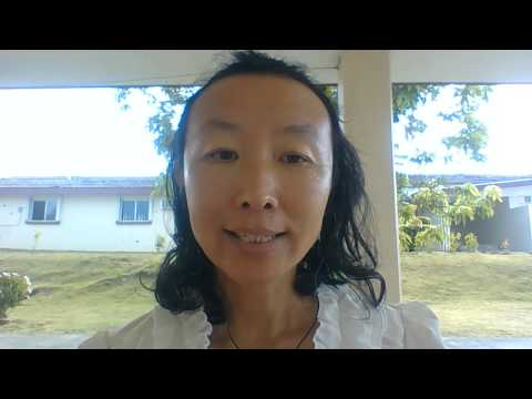 I teached chinese language pronunciation aoe iuu