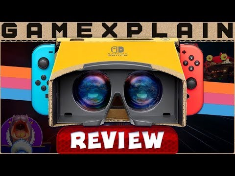 Labo VR is the Real Deal - REVIEW (Nintendo Switch) - YouTube video thumbnail