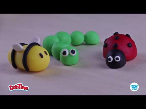 DohTime How to Make Bugs| طريقة تشكيل الحشرات من المعجون