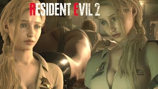 Resident Evil 2 Sexy Sheriff and Claire Face Mod