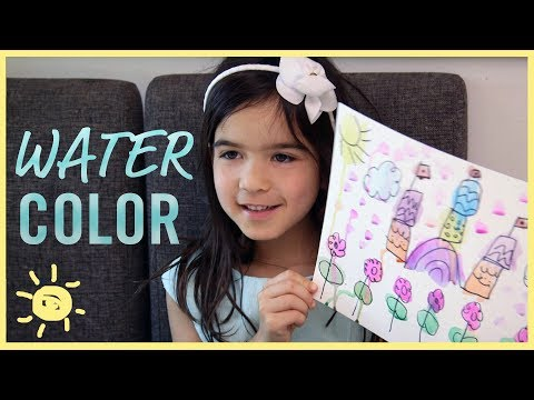 PLAY   3 Ways to Watercolor!