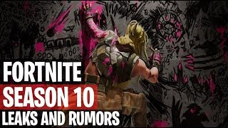 Fortnite | Season 10 Leaks And Insane Theories