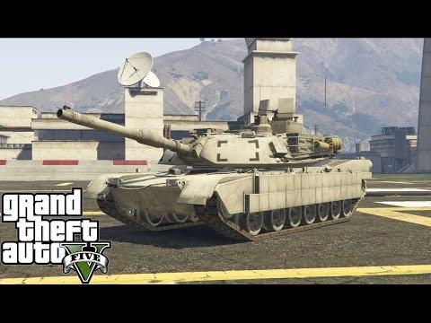 M1A2 Abrams in GTA V