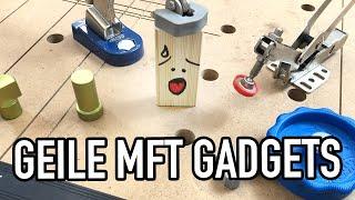 GADGETS für deinen MULTIFUNKTIONSTISCH (MFT LOCHPLATTE) - Sicher arbeiten & werken - #valentinmike