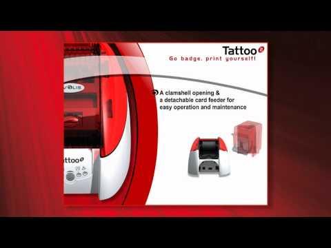 Evolis Tattoo 2 ID Card Printer