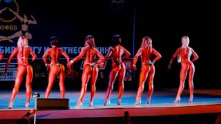 Кубок Харькова 2017 Фитнесс бикини Гуцал Оля дефиле mp4