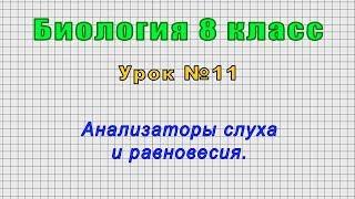 Биология 8 класс Урок 11