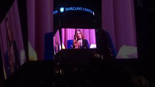 "Michelle Obama Talks ""Becoming"" with Sarah Jessica Parker at Brooklyn's Barclays Center"