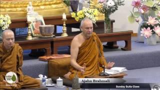 DN16: Mahaparinibbana Sutta (part 2)  | Ajahn Brahmali | 28 May 2017