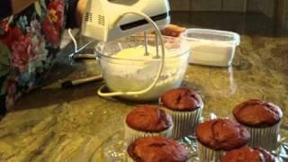 Red Velvet Giant Cupcakes Part 2 By Diane Lovetobake