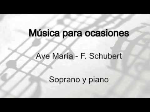 Ave María - F. Schubert