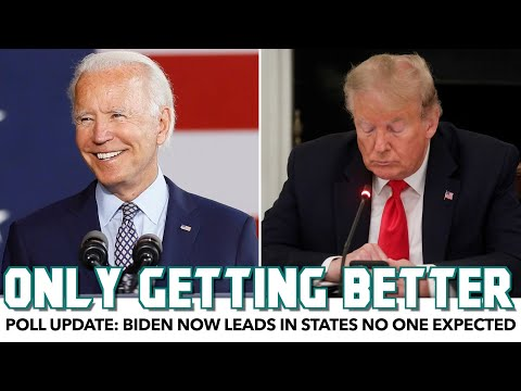 Poll Update: Biden Now Leads In States No One Expected