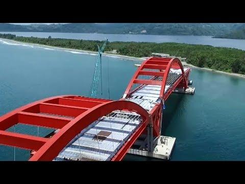 Jembatan Holtekamp Hadir, Jayapura-Muara Tami Cuma 1 Jam