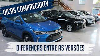 Novo Chevrolet Tracker 2021 - Diferenças Entre as