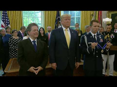 President Trump Presents the Presidential Medal of Freedom to Arthur Laffer