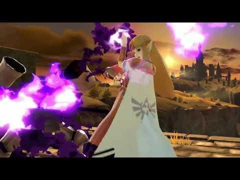Super Smash Bros. Ultimate - Bandes annonces - Zelda