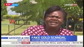 Gladys Wanga clarifies on claims they were linked to fake gold scandal