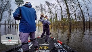 The Most CLUTCH Tournament Fishing Catch Of My LIFE (GIANT Sam Rayburn Bass)