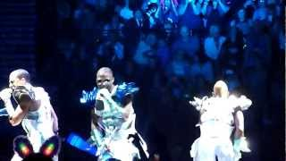 JLS 4D Tour- Manchester- Intro & Take You Down
