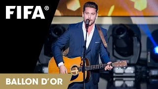 Bastian Baker - '79 Clinton Street' (Live at FIFA Ballon d'Or)