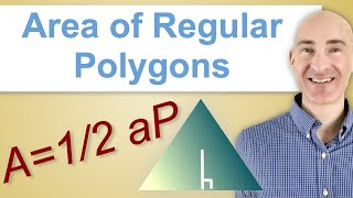 Find The Area Of Regular Polygons