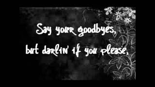 The Civil Wars - C'est la Mort (lyrics)