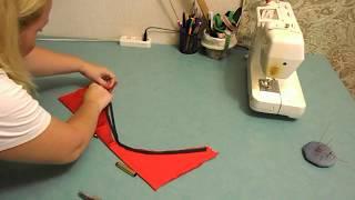 Смотреть онлайн Как сшить купальник своими руками на швейной машинке