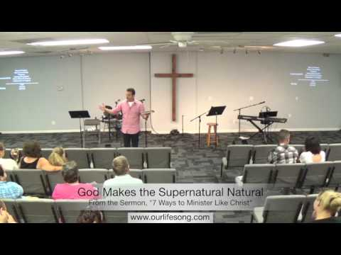 God Makes the Supernatural Natural