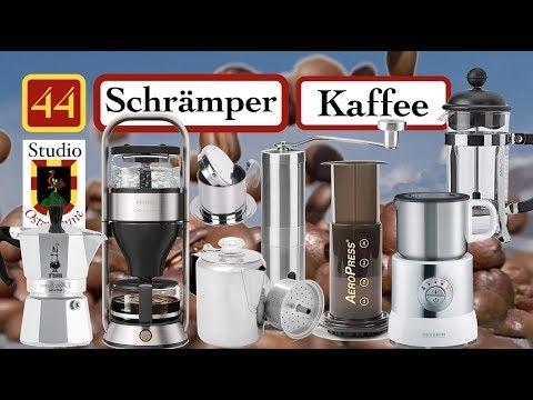 44 Schrämper Camper kochen Kaffee viele Arten der Kaffeezubereitung ganz großes kaffeekochen