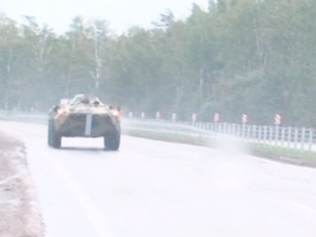 Ангарск принял участие в военных учениях