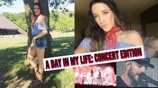 A DAY IN MY LIFE VLOG: CONCERT EDITION | SAM HUNT