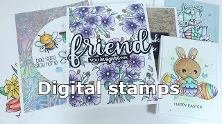 How To Use Digital Stamps - Clearly Besotted