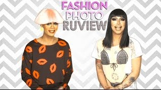 RuPaul's Drag Race Fashion Photo RuView with Raja and Raven - Episode 3