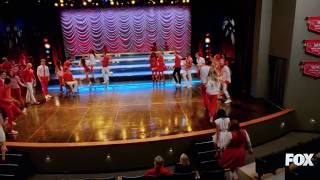 """""""I lived"""".  The Last and final full scene and performance of glee. (You will be missed. Forever)."""
