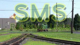 preview picture of video 'SMS Rail Lines : Operations at Morrisville'