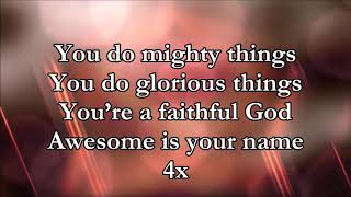 You Do Mighty Things - Sinach