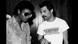 Michael Jackson  Freddie Mercury   There Must Be More to Life Than This Video Clip