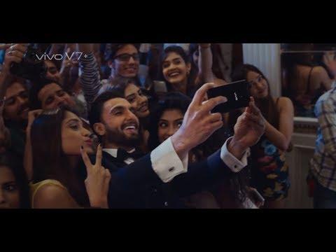 Delisha's Vivo Ad with Ranveer Singh