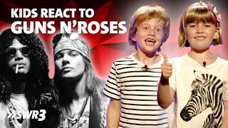 Kinder Reagieren Auf Guns N Roses (English Subtitles)