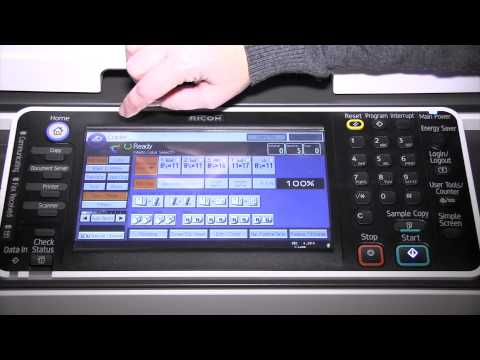 How to Use Your Ricoh MP C6502 or Ricoh MP 7502 Device